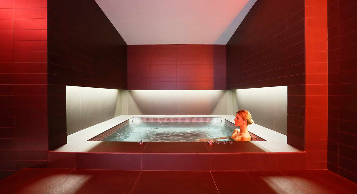 Commercial spa design from Cheshire Wellness