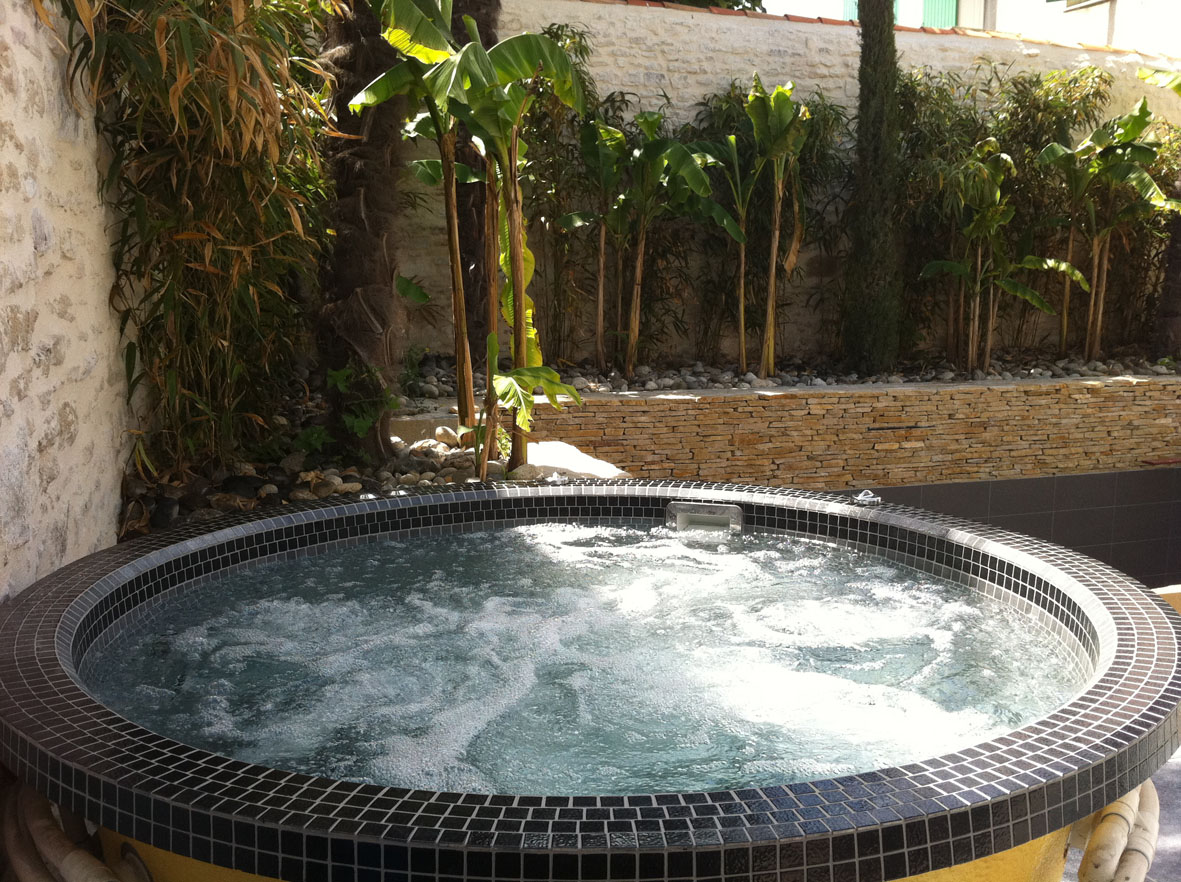 Domestic tiled spas from Cheshire Wellness