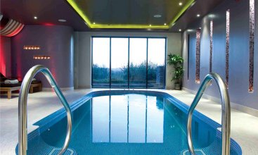 Swimspas pool and tiled spa design cheshire wellness uk Hotels with swimming pools in galway